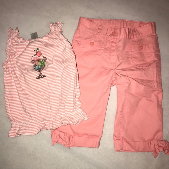 1e3f8122e73e9 Janie and Jack Matching Sets | Peach Ice Cream Social Outfit 2t ...